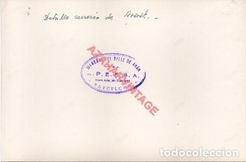 Fotografía antigua: FOTOGRAFIA 18X12 - AÑOS 40 - MADERAS DEL VALLE DE ARAN - BARCELONA - DETALLE SERRERIA BOSSOT - Foto 2 - 223453760
