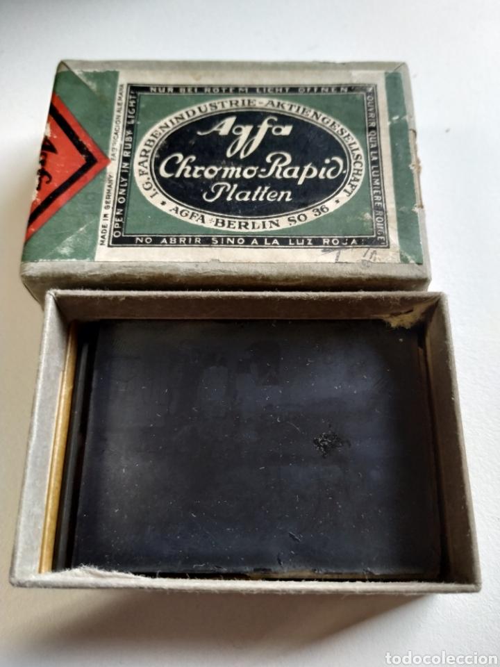 Fotografía antigua: Caja con 6 negativos en cristal 1937 - Foto 3 - 223472822