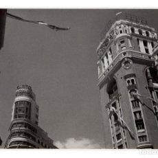 Fotografia antica: MADRID.- EDIFICIO CAPITOL. FOTO PANIAGUA. 11X17.. Lote 223904863