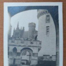 Fotografía antigua: FOTO CASTILLO DE PIERREFONS (FRANCIA) 1924. Lote 224014670