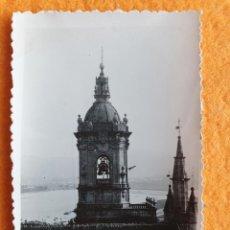 Fotografía antigua: FOTOGRAFIA ANTIGUA 9 X 6 CM ORIGINAL1933 FUENTERRABIA GUIPÚZCOA - IGLESIA. Lote 224582026