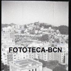 Fotografía antigua: NEGATIVO ACETATO BARCELONA FINCA EL PINAR MANSION HEUSCH DESAPARECIDA SANT GERVASI VALLCARCA AÑOS 40. Lote 225121926
