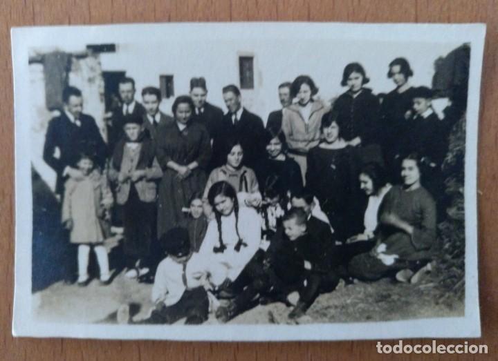 FOTO DE GRUPO EN EL BRUNET SANT CRISTOFOL SETEMBRE 1922 (Fotografía Antigua - Fotomecánica)