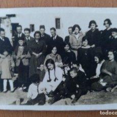 Fotografía antigua: FOTO DE GRUPO EN EL BRUNET SANT CRISTOFOL SETEMBRE 1922. Lote 225703845