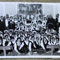 Fotografía antigua: FOTOGRAFÍA DÍA DE LA FIESTA DE LA DIVINA PASTORA (1 DE MAYO 1965) - MANZANARES - CIUDAD REAL. Lote 226073860