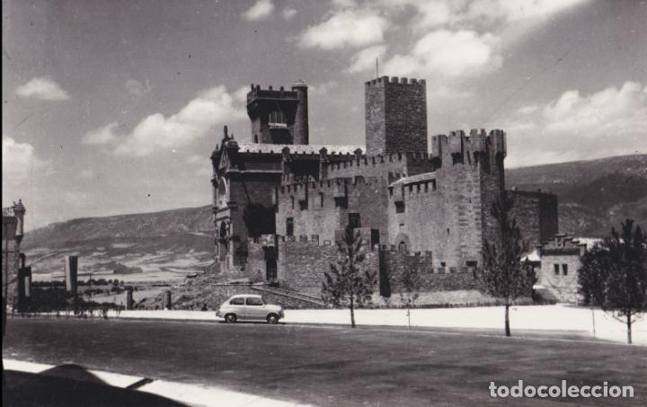 NAVARRA - ANTIGUA FOTOGRAFIA CASTILLO JAVIER - 1967 (Fotografía Antigua - Fotomecánica)