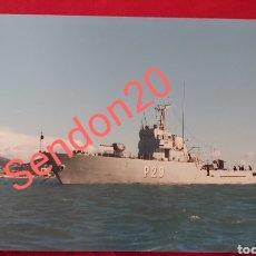 Fotografía antigua: FOTOGRAFIA PATRULLEROS P29 AL DEVA. EN BAZAN FERROL. Lote 227726045