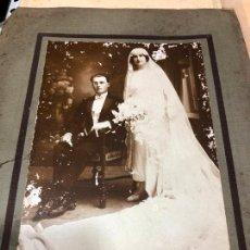 Fotografía antigua: FOTOGRAFIA DE BODA HECHA EN BUENOS AIRES (ARGENTINA) EN NOVIEMBRE 1923. Lote 227768965