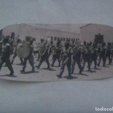 Fotografía antigua: LA LEGION : FOTO DE BANDA DE MUSICA LEGIONARIA . EL AAIUN, SAHARA. Lote 228190473