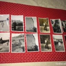 Fotografia antica: ZONA DE BORJAS BLANCAS ( LLEIDA ) - LOTE DE 12 FOTOGRAFÍAS ORIGINALES - AÑOS 30. Lote 228207360