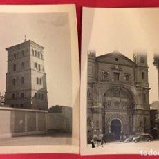 Fotografía antigua: FOTOGRAFIA DE ARAGON, ZARAGOZA AÑOS 40-50 DIZ Y CASA ROS. Lote 228468355