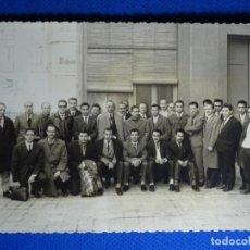 Fotografía antigua: FOTOGRAFÍA ESCUELA SINDICAL DE BARCELONA 1963.REPORTERO GRÁFICO J. CID.. Lote 228815787