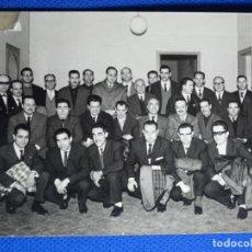 Fotografía antigua: FOTOGRAFÍA ESCUELA SINDICAL DE BARCELONA 1963.REPORTERO GRÁFICO J. CID.. Lote 228815835