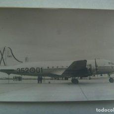 Fotografía antigua: AVIACION : FOTO DE AVION DE LA FUERZA AEREA ESPAÑOLA. Lote 246156220