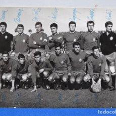 Fotografía antigua: ANTIGUA FOTO DE LA SELECCIÓN ESPAÑOLA DE FOTBOL.REINA,DE FELIPE,RODIN,ANTON,ORTIZ,RODRI.FOT TEDESCHI. Lote 230439785