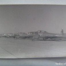 Fotografía antigua: AVIACION : FOTO DE AVION DE LA FUERZA AEREA ESPAÑOLA. Lote 244684305