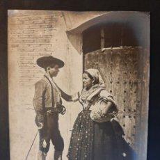 Fotografía antigua: ANTIGUA FOTOGRAFÍA JEAN LAURENT TOLEDO TRAJE REGIONAL 655. Lote 230944915