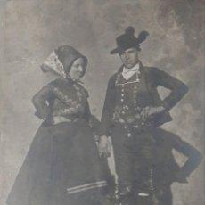 Fotografía antigua: ANTIGUA FOTOGRAFÍA JEAN LAURENT CACERES MONTEHERMOSO TRAJE REGIONAL NUMERO 1921. Lote 230945535