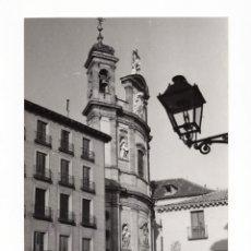Fotografia antica: MADRID.- BASÍLICA PONTIFICIA DE SAN MIGUEL. FOTO MANUEL URECH. 11X17.. Lote 231731350