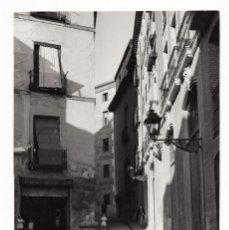 Fotografia antica: MADRID.- CALLE DEL ROLLO. FOTO MANUEL URECH. 11X17.. Lote 231732255
