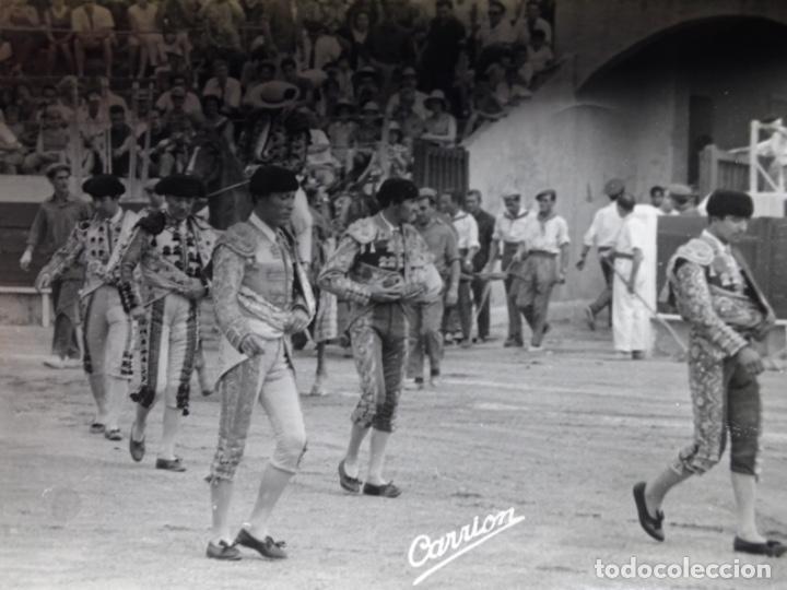 Fotografía antigua: 19 FOTOGRAFÍAS DE TOREROS ANTONIO POVEDA ETC.REPORTEROS CARRIÓN,VEGA,DELGADO,VILLAR,EDÉN,SOLSA... - Foto 2 - 233033985