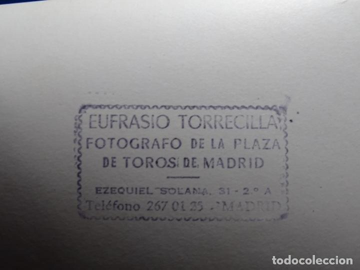 Fotografía antigua: 19 FOTOGRAFÍAS DE TOREROS ANTONIO POVEDA ETC.REPORTEROS CARRIÓN,VEGA,DELGADO,VILLAR,EDÉN,SOLSA... - Foto 5 - 233033985