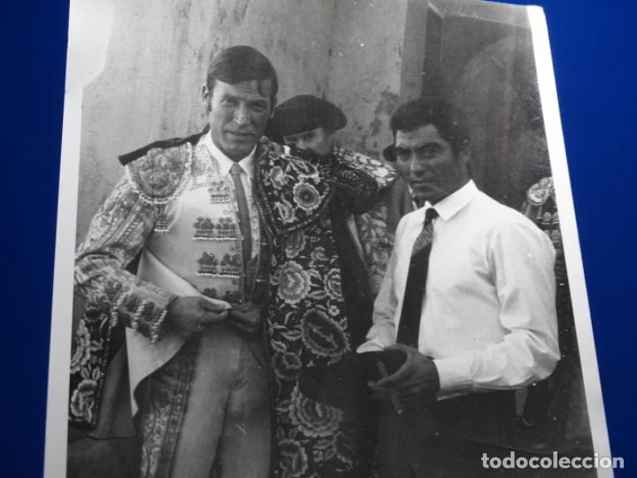 Fotografía antigua: 19 FOTOGRAFÍAS DE TOREROS ANTONIO POVEDA ETC.REPORTEROS CARRIÓN,VEGA,DELGADO,VILLAR,EDÉN,SOLSA... - Foto 6 - 233033985