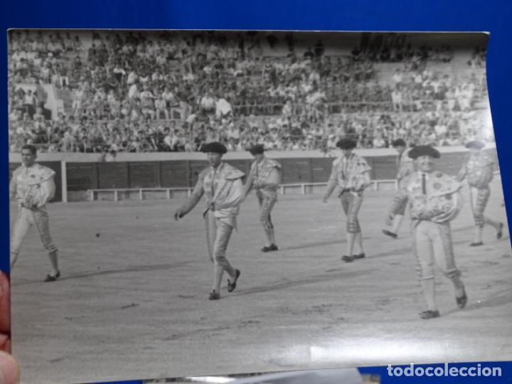 Fotografía antigua: 19 FOTOGRAFÍAS DE TOREROS ANTONIO POVEDA ETC.REPORTEROS CARRIÓN,VEGA,DELGADO,VILLAR,EDÉN,SOLSA... - Foto 8 - 233033985