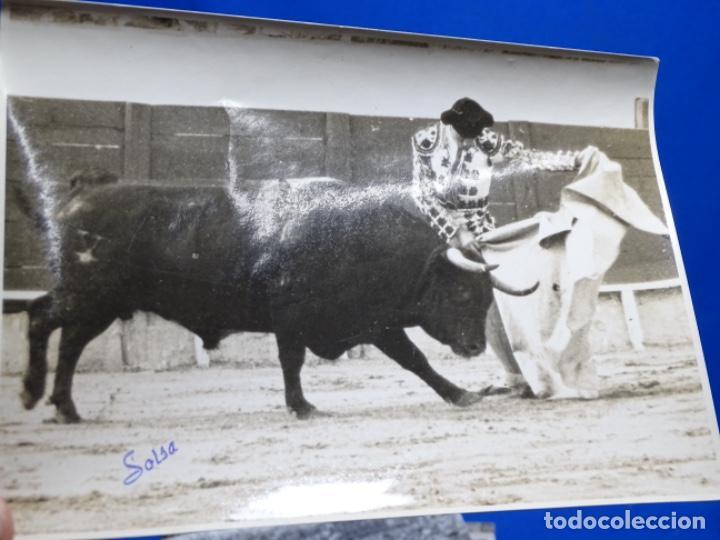 Fotografía antigua: 19 FOTOGRAFÍAS DE TOREROS ANTONIO POVEDA ETC.REPORTEROS CARRIÓN,VEGA,DELGADO,VILLAR,EDÉN,SOLSA... - Foto 9 - 233033985