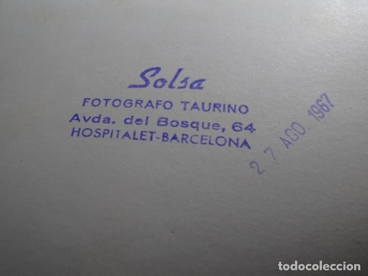 Fotografía antigua: 19 FOTOGRAFÍAS DE TOREROS ANTONIO POVEDA ETC.REPORTEROS CARRIÓN,VEGA,DELGADO,VILLAR,EDÉN,SOLSA... - Foto 10 - 233033985