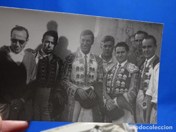 Fotografía antigua: 19 FOTOGRAFÍAS DE TOREROS ANTONIO POVEDA ETC.REPORTEROS CARRIÓN,VEGA,DELGADO,VILLAR,EDÉN,SOLSA... - Foto 11 - 233033985
