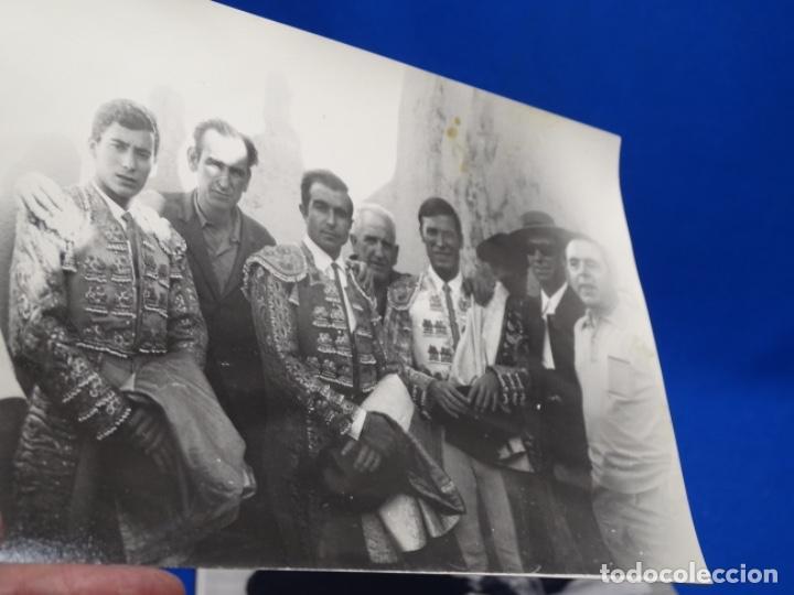 Fotografía antigua: 19 FOTOGRAFÍAS DE TOREROS ANTONIO POVEDA ETC.REPORTEROS CARRIÓN,VEGA,DELGADO,VILLAR,EDÉN,SOLSA... - Foto 14 - 233033985