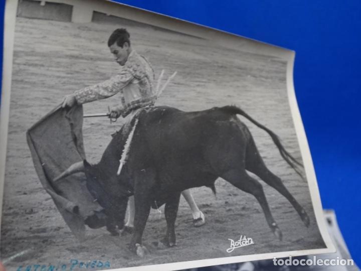 Fotografía antigua: 19 FOTOGRAFÍAS DE TOREROS ANTONIO POVEDA ETC.REPORTEROS CARRIÓN,VEGA,DELGADO,VILLAR,EDÉN,SOLSA... - Foto 16 - 233033985