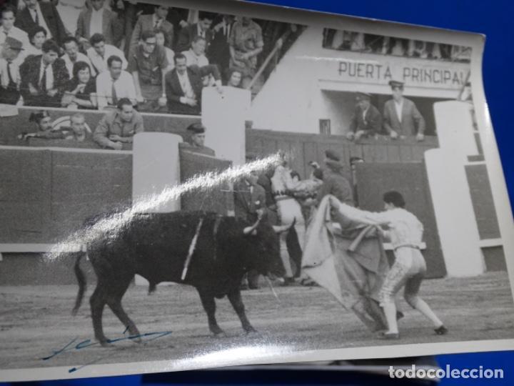 Fotografía antigua: 19 FOTOGRAFÍAS DE TOREROS ANTONIO POVEDA ETC.REPORTEROS CARRIÓN,VEGA,DELGADO,VILLAR,EDÉN,SOLSA... - Foto 18 - 233033985