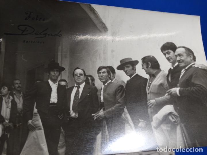 Fotografía antigua: 19 FOTOGRAFÍAS DE TOREROS ANTONIO POVEDA ETC.REPORTEROS CARRIÓN,VEGA,DELGADO,VILLAR,EDÉN,SOLSA... - Foto 20 - 233033985