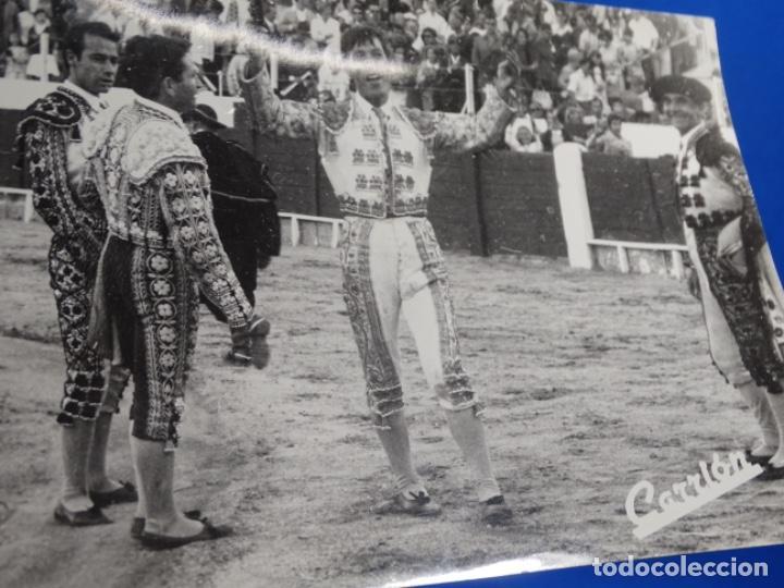 Fotografía antigua: 19 FOTOGRAFÍAS DE TOREROS ANTONIO POVEDA ETC.REPORTEROS CARRIÓN,VEGA,DELGADO,VILLAR,EDÉN,SOLSA... - Foto 24 - 233033985