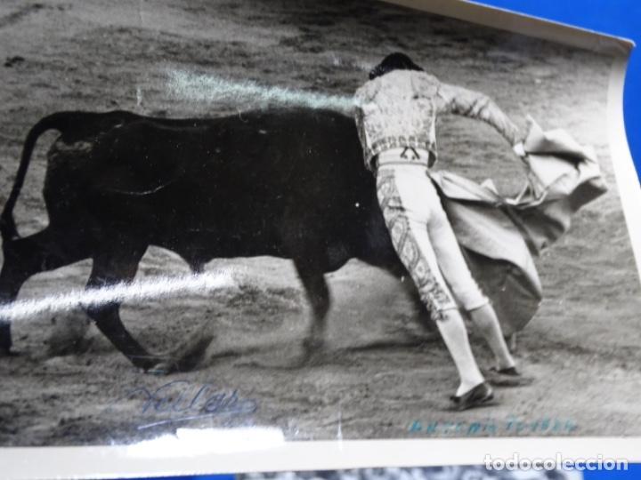 Fotografía antigua: 19 FOTOGRAFÍAS DE TOREROS ANTONIO POVEDA ETC.REPORTEROS CARRIÓN,VEGA,DELGADO,VILLAR,EDÉN,SOLSA... - Foto 26 - 233033985