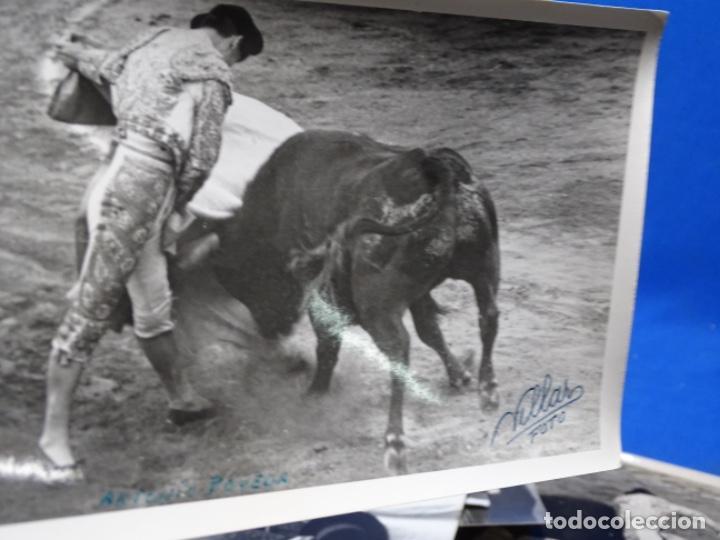 Fotografía antigua: 19 FOTOGRAFÍAS DE TOREROS ANTONIO POVEDA ETC.REPORTEROS CARRIÓN,VEGA,DELGADO,VILLAR,EDÉN,SOLSA... - Foto 31 - 233033985
