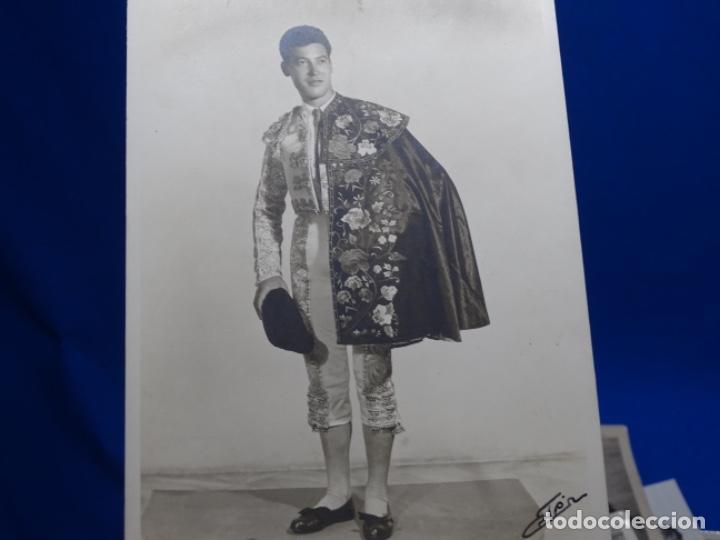 Fotografía antigua: 19 FOTOGRAFÍAS DE TOREROS ANTONIO POVEDA ETC.REPORTEROS CARRIÓN,VEGA,DELGADO,VILLAR,EDÉN,SOLSA... - Foto 32 - 233033985