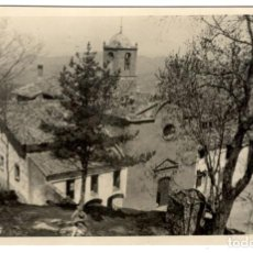 Fotografía antigua: FOTOGRAFIA DE LA ERMITA DE LA SALUD - 1949 - SANT FELIU DE PALLAROLS.. Lote 234465485