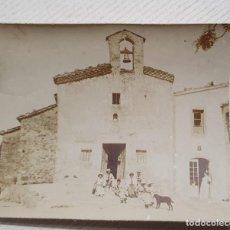 Fotografía antigua: SANTA FE DE.L MONTSENY. ANTIGUA FOTOGRAFIA MEDIDAS 7 X 6 ESTADO EL DE LA FOTO. Lote 235837810