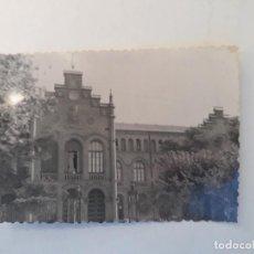 Fotografía antigua: ANTIGUA FOTOGRAFIA - ESCUELA INDUSTRIAL DE TARRASSA (TERRASSA) - SEPTIEMBRE 1958.. Lote 236053495