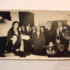 Fotografía antigua: BENIFAYO (VALENCIA) FOTOGRAFÍA J. MAIQUES. REUNIÓN SOCIAL... (H.1960?). Lote 236659520