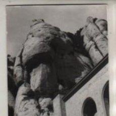 Fotografía antigua: FOTO LA ROCA DEL SASTRE - MONTAÑA DE MONTSERRAT MONASTIR. Lote 236790460