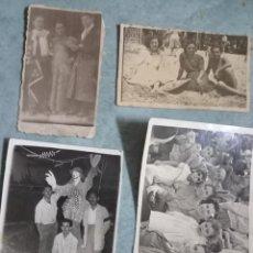 Fotografía antigua: LOTE 4 FOTOS ANTIGUAS DE FIESTAS EN ALICANTE AÑOS 40. Lote 236969955