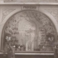 Fotografía antigua: FOTO ANTIGUA DE UN NICHO DE PROPIEDAD DEL ANTIGUO CEMENTERIO SAN JOSE EN CADIZ. Lote 238684715