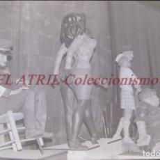 Fotografia antica: VALENCIA - FALLAS - ANTIGUO CLICHE NEGATIVO DE 35 MM EN CELULOIDE. Lote 239452950