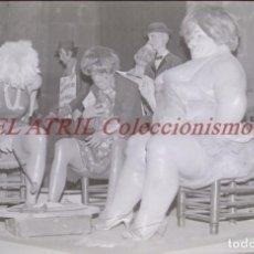 Fotografia antica: VALENCIA - FALLAS - ANTIGUO CLICHE NEGATIVO DE 35 MM EN CELULOIDE. Lote 239453035