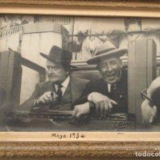 Photographie ancienne: ALIPIO PÉREZ-TABERNERO SANCHÓN, EL DE LAS PATILLAS. Lote 239604350