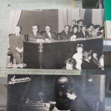 Fotografia antica: ANTIGUAS FOTOGRAFIAS CONSERVATORIO MUSICA DE MURCIA PIANO FOTOS APARICIO 1961. Lote 240441750